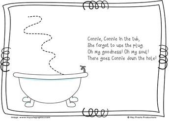 Connie, Connie in the tub