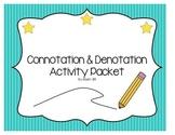 Connotation & Denotation Activity Set -- Create Team/Create Sigil