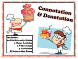 Connotation Denotation Video News Bias Poetry Tone Engage Game Middle 5 6 7 8 9