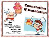 Connotation Denotation Video News Bias Poetry Tone Engage