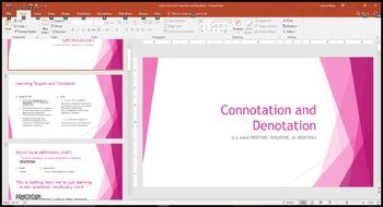 Connotation & Denotation Resources (To Kill a Mockingbird)