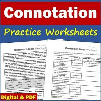 Connotation Quizzes