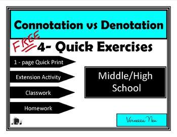 Connotation vs Denotation