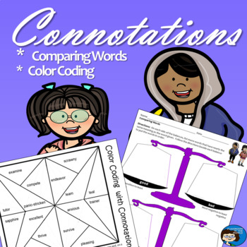 Connotations - Free Activity Sheets