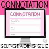 Connotations Quiz Digital Google Apps