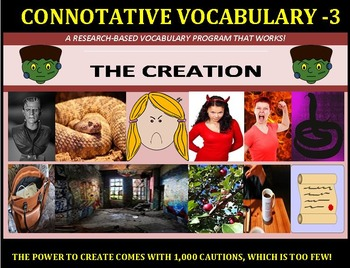 CCSS: Connotative Vocab Units 1-10 All with Pre-Reading Prediction Graphics!