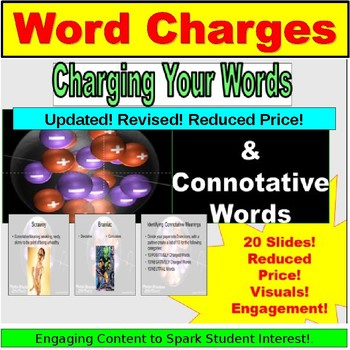 Connotative Words: Charged Meaning PowerPoint