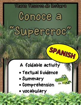 Conoce a Supercroc Foldable (Spanish)