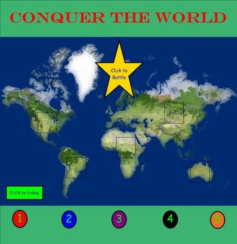 Conquer the World (Simplifying Expressions and Solving One-Step Equations)