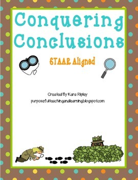 Conquering Conclusions with Informational Texts (STAAR Aligned)