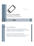 Algebraic Expressions Bundle - Preview