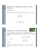 Multiplying Fractions - Flipped Classroom