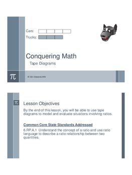 Tape Diagrams - Flipped Classroom