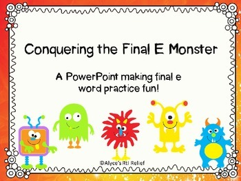 Conquering the Final E Monster
