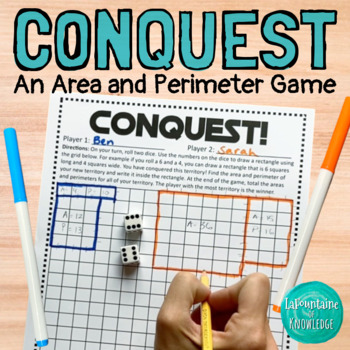 Conquest! An Area and Perimeter Game