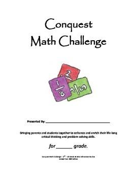 Conquest Math 18 Week Enrichment Math Word Problem Solving
