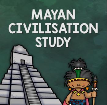 Conquistador & Mayan Civilisation Study - Geography & History Focus