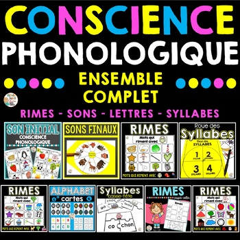 Conscience phonologique (Ensemble Complet) - French Phonemic Awareness