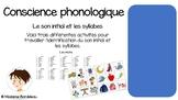 Conscience phonologique: Le son initial et les syllabes