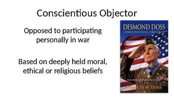 Conscientious Objectors (Hacksaw Ridge)