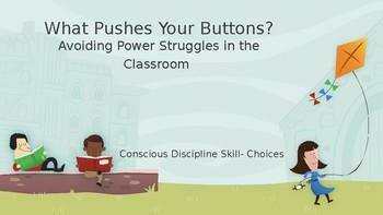 Conscious Discipline- Avoiding Power Struggles