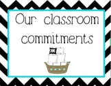 Conscious Discipline - Classroom Commitments: Pirate Version