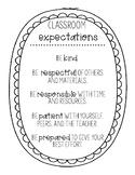 *FREEBIE* Conscious Discipline Classroom Expectations Printable