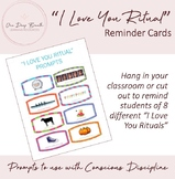 Conscious Discipline 'I Love You Ritual' Reminder Cards