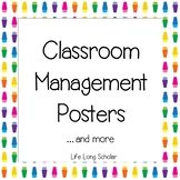 Conscious Discipline Posters - Classroom Management