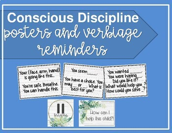 It is an image of Transformative Conscious Discipline Posters
