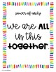 Conscious Discipline Printables- Rainbow Seven Powers Posters