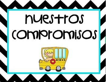 Conscious Discipline *SPANISH EDITION*- Classroom Commitments: School Version
