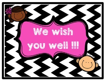 Conscious Discipline - Wish You Well Board
