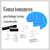 Consciousness | Psychology Crosswords Practice