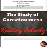 Consciousness Text Book Reading/Internet Research Worksheet Psychology