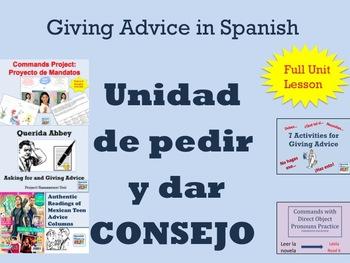 Spanish Advice Unit Consejo and Commands Unit