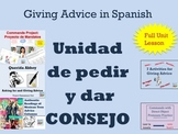 Spanish Advice Unit Consejo and Commands Unit