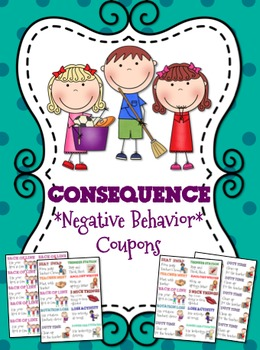 Consequence Coupons { Tickets }