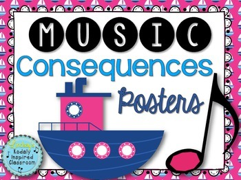 Consequence Posters {Nautical Themed}
