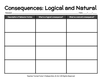 Consequences: Logical and Natural