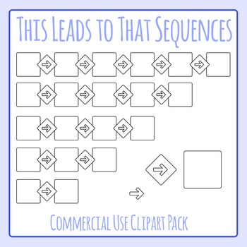 Consequences - This Leads to That - Clip Art Set for Commercial Use
