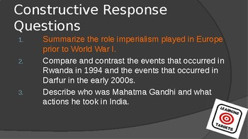Consequences of Imperialism PowerPoint Lecture