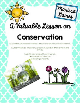 Conservation Lesson