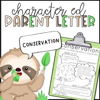Conservation Parent Letter