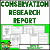 Conservation Research Report