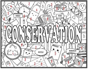 Conservation Seek and Find Science Doodle Page