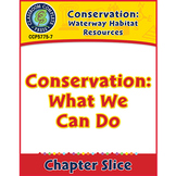 Conservation: Waterway Habitat Resources: Conservation: What We Can Do Gr. 5-8
