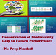 Conservation of Biodiversity DETAILED LESSON PLAN Ecology Unit
