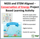 Conservation of Energy - A Physics Project Based Learning Activity (PBL)