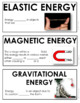 ONTARIO SCIENCE: GRADE 5 CONSERVATION OF ENERGY ILLUSTRATED WORD WALL CARDS